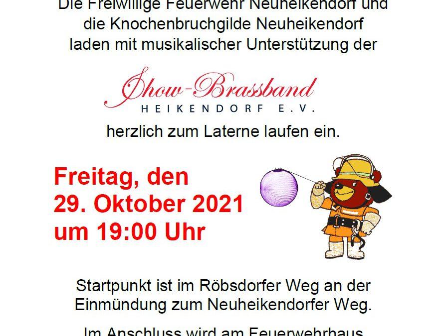 News #2021/45: Laterne laufen in Neuheikendorf